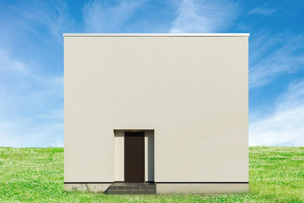 シンプルなのにかっこいい憧れの白い家
