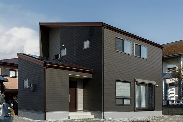 充実収納と家事楽の家