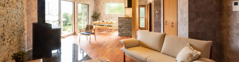 薪ストーブと暮らす平屋の家