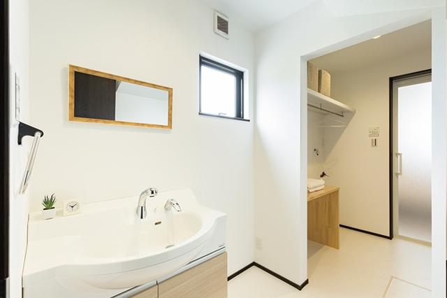 洗面所と脱衣室の独立プラン